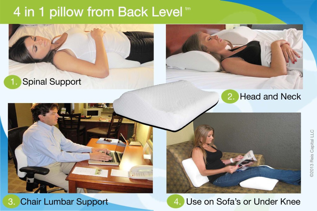 Back Support Pillow By Back Level Best Lumbar Posture For Back
